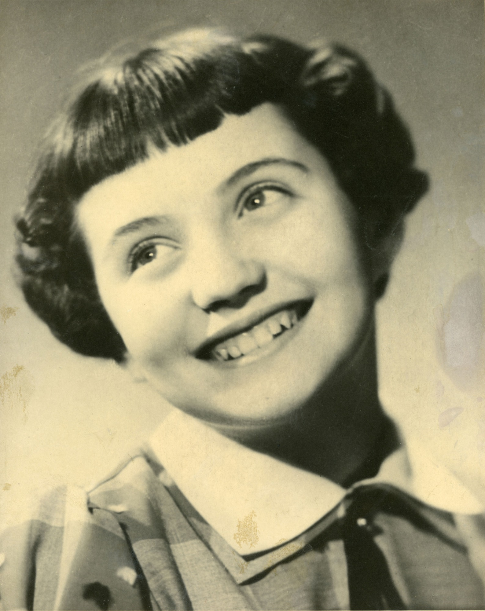 Louise, 8 ans, 1955