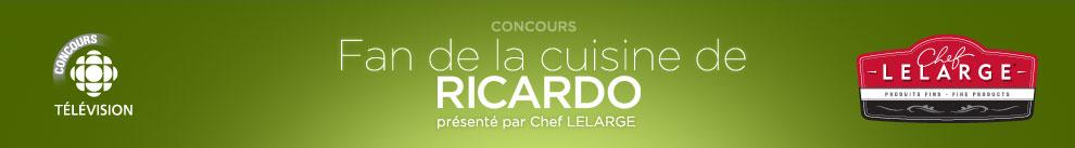 concours fan de la cuisine de ricardo ricardo zone t 233 l 233 vision radio canada ca