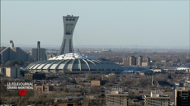 Coderre et le Stade olympique