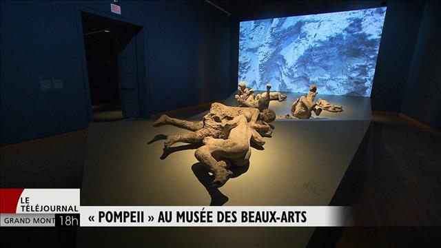 « Pompéi » au musée