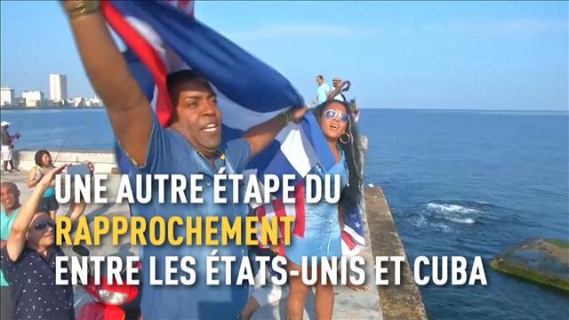 Un premier bateau américain à Cuba en près de 40 ans