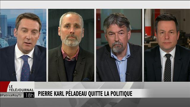 Démission de Pierre Karl Péladeau