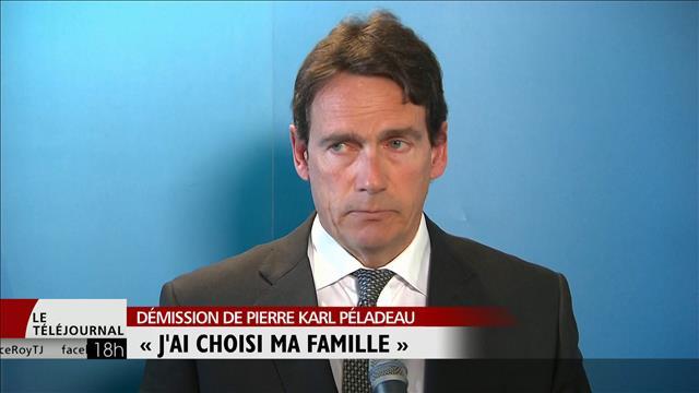 Pierre Karl Péladeau quitte la vie politique