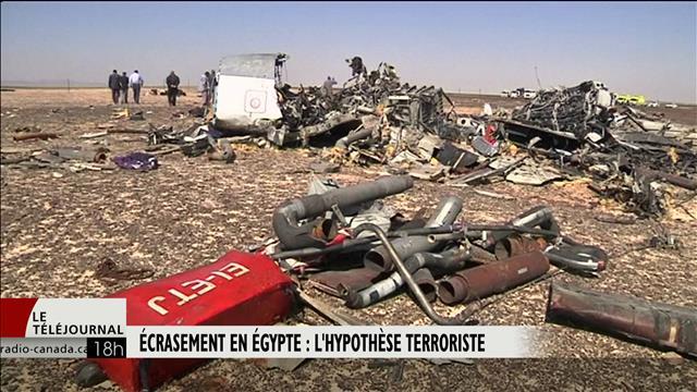 Écrasement en Égypte : l'hypothèse terroriste