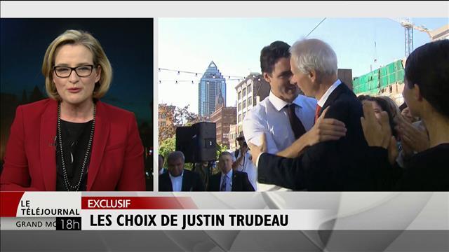Les choix de Justin Trudeau