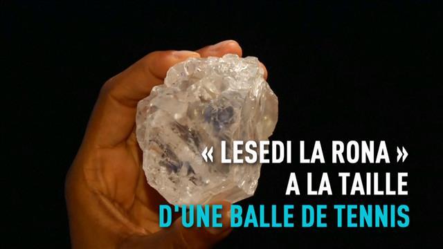 Le plus gros diamant brut au monde mis aux enchères