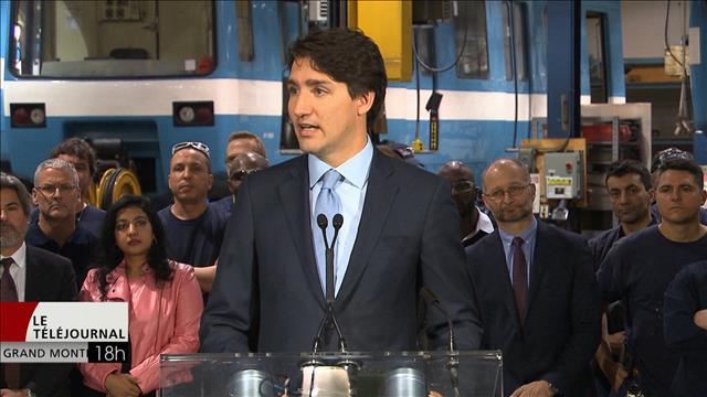 Trudeau favorable au prolongement de la ligne bleue