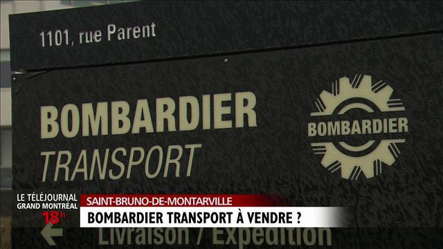 La division des trains de Bombardier à vendre?