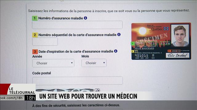 Carte Assurance Maladie Expiration.Un Site Web Pour Trouver Un Medecin Ici Radio Canada Ca