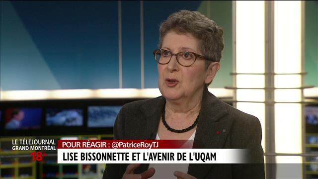 UQAM : Entrevue avec Lise Bissonnette