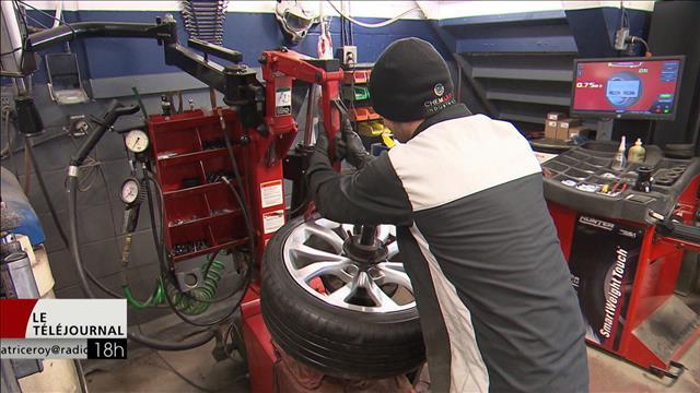 Les pneus d'hiver obligatoires dès mardi