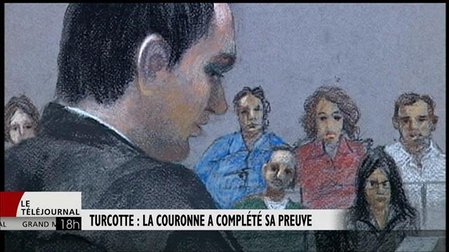 Procès Turcotte : la Couronne a terminé sa preuve