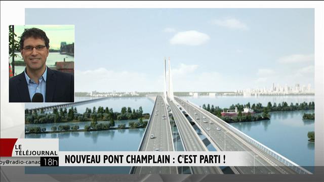 Nouveau pont Champlain : c'est parti!