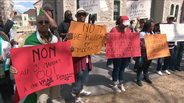 Les Burundais menacés de déportation