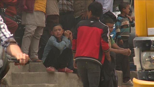 Les enfants victimes d'abus et de trafic à la suite du séisme au Népal