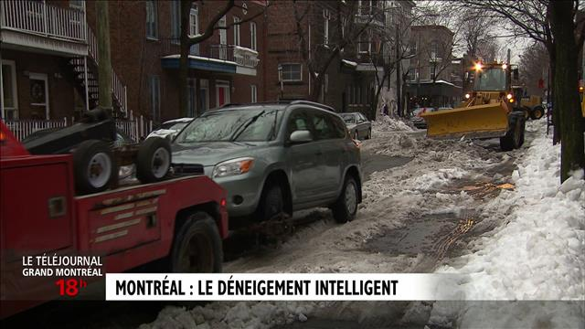 Le déneigement intelligent