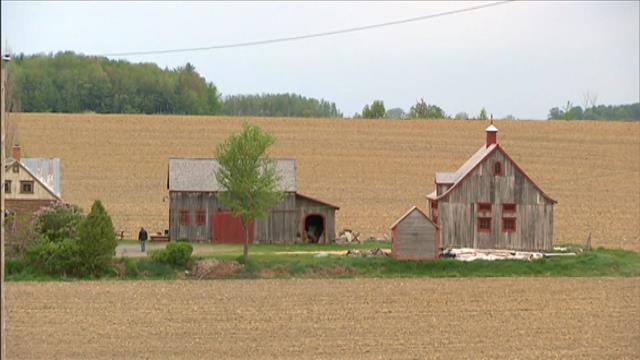 Les granges en bois