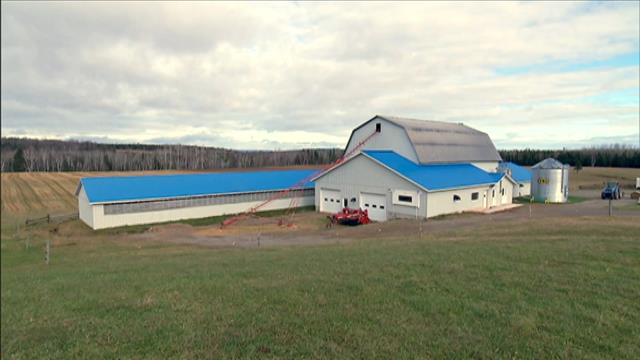 Les granges remises à neuf