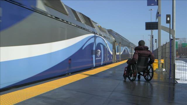 Train inaccessible