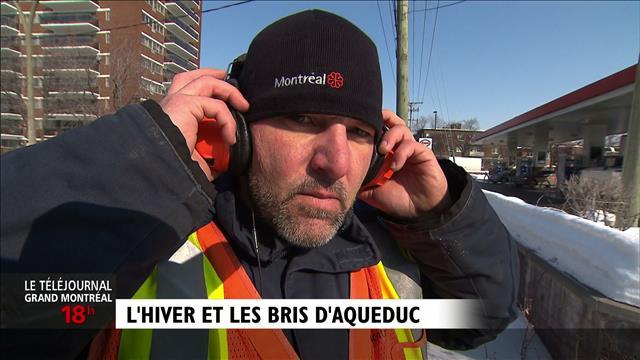 Montréal à l'écoute de son réseau d'aqueduc : reportage d'Olivier Bachand