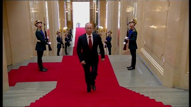 La popularité de Poutine