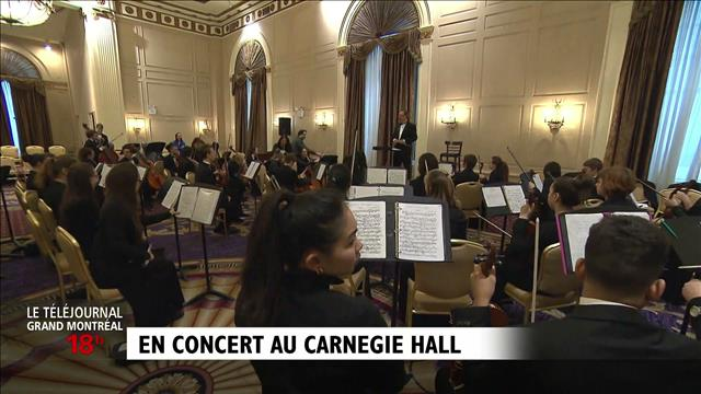 Le grand soir au Carnegie Hall : reportage d'Anne-Louise Despatie