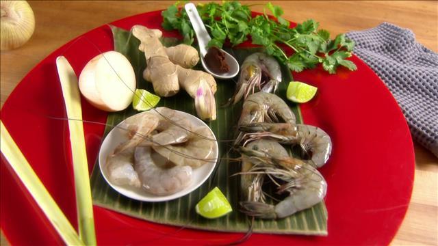 Trucs: Crevettes décortiqués