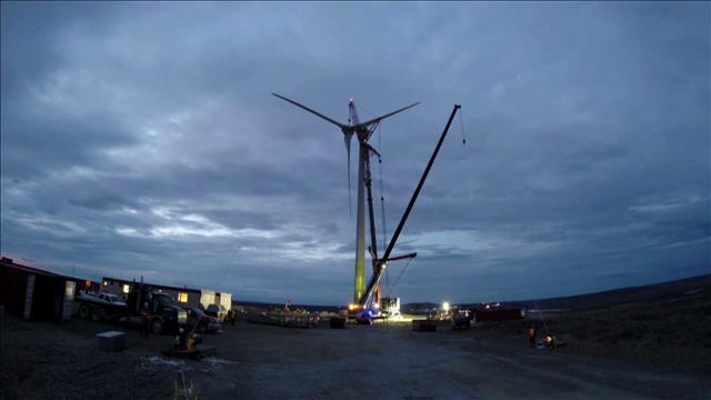 Éolienne à la conquête du Nord