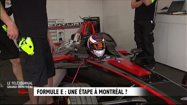 Une étape de formule E à Montréal? Reportage de François Cormier