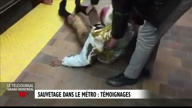 Les sauveteurs du métro Jarry : reportage de Jérôme Labbé