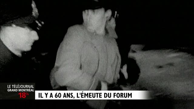 Les 60 ans de l'émeute du Forum : reportage d'Antoine Deshaies