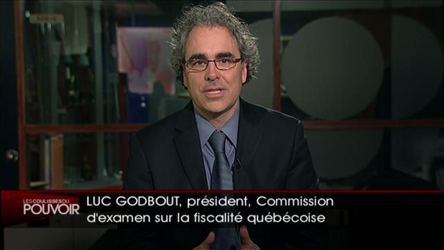 Entrevue avec Luc Godbout
