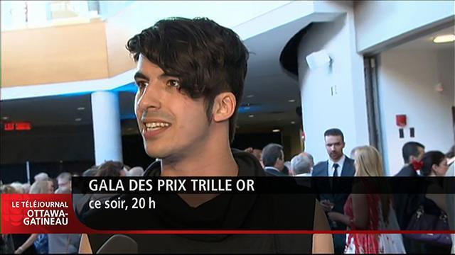 Mehdi Hamdad s'est démarqué au Gala des prix Trille Or