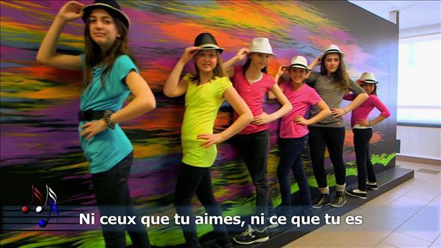 <em>Tu es comme ça</em>de Marilou et Garou -École Jacques-Cartier-Saint-Denys-Garneau