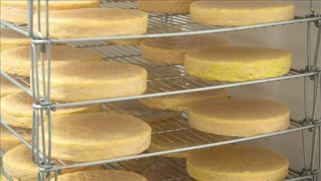 Produit vedette : le fromage Crû des érables.