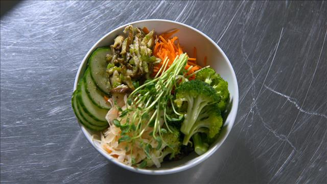 Manger végétaliens