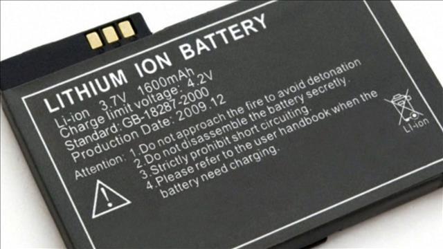 Alerte aux piles au lithium-ion