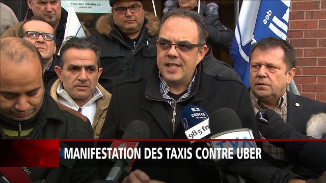 Journée de mobilisation à l'aéroport de Montréal