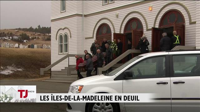 Les Îles-de-la-Madeleine en deuil