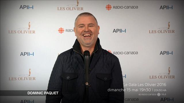 Quel conseil donneriez-vous à François Morency, qui anime le gala?