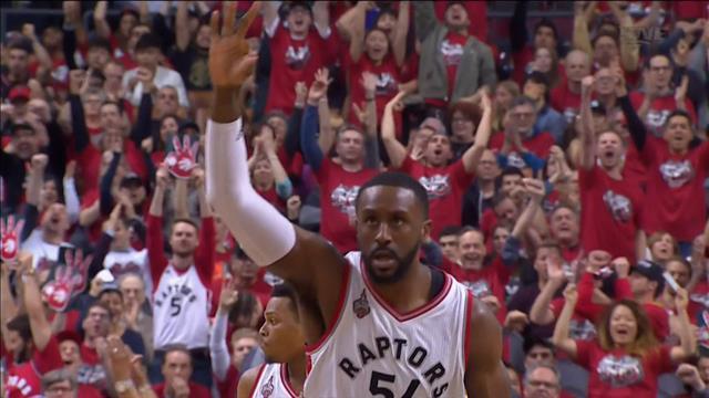 Basketball : les Raptors de Toronto gagnent enfin une série