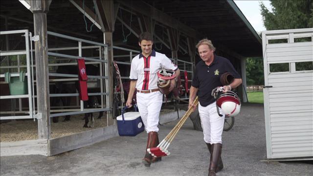 Sébastien découvre le polo