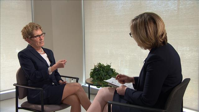 Entrevue avec Kathleen Wynne