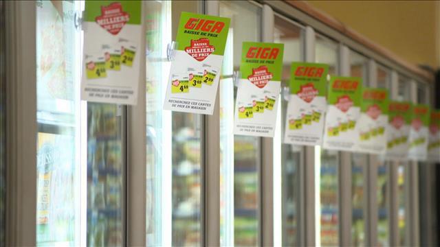Épiceries: une véritable guerre des prix?