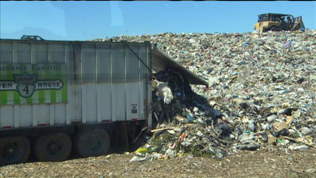 La décharge de Vancouver ouvre la porte à ses déchets