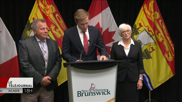 Remaniement ministériel au Nouveau-Brunswick