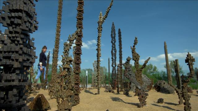«Le jardin du sculpteur» de Patrick Coutu