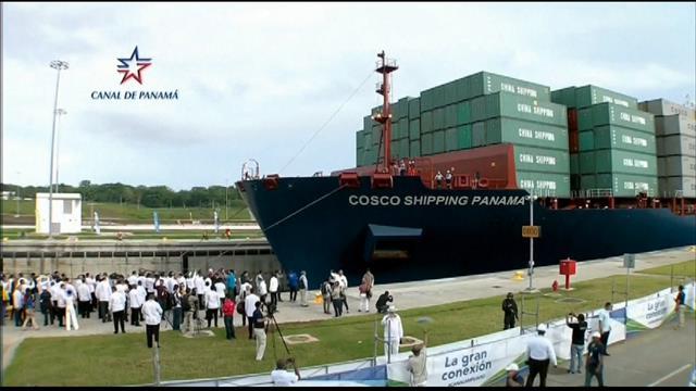 Inauguration du canal de Panama élargi