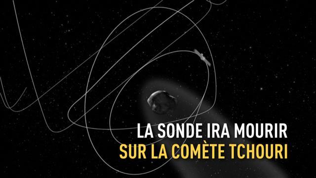 La mission de la sonde Rosetta prend fin