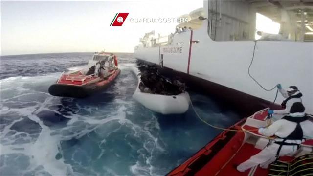 Migrants: 107rescapés et 10morts en Méditerranée